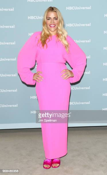 Actress Busy Philipps attends the 2018 NBCUniversal Upfront presentation at Rockefeller Center on May 14 2018 in New York City