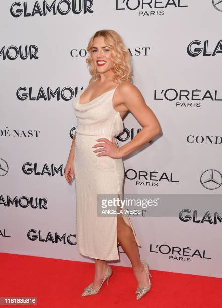 US actress Busy Philipps attends the 2019 Glamour Women Of The Year Awards at Alice Tully Hall Lincoln Center on November 11 2019 in New York City