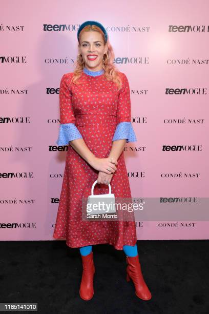 Actress Busy Philipps attends the 2019 Teen Vogue Summit at Goya Studios on November 02, 2019 in Hollywood, California.