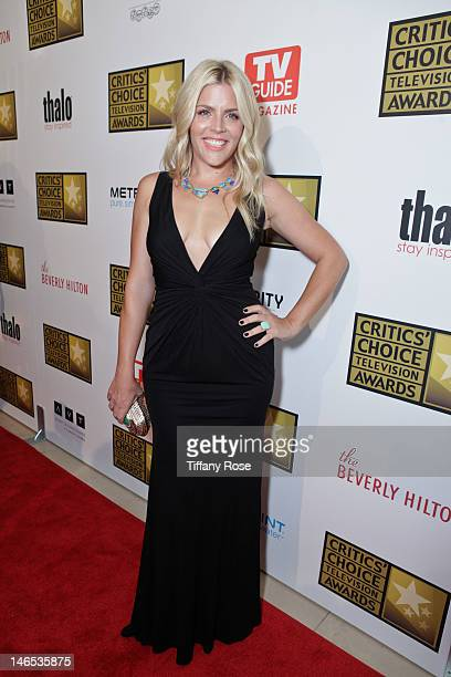 Actress Busy Philipps attends the 2nd annual Critic's Choice Television Awards sponsored by Metromint water at The Beverly Hilton Hotel on June 18,...