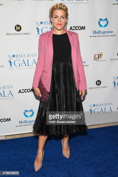 Actress Busy Philipps attends the 2nd Annual Norma Jean Gala at The Paley Center for Media on March 18 2014 in Beverly Hills California