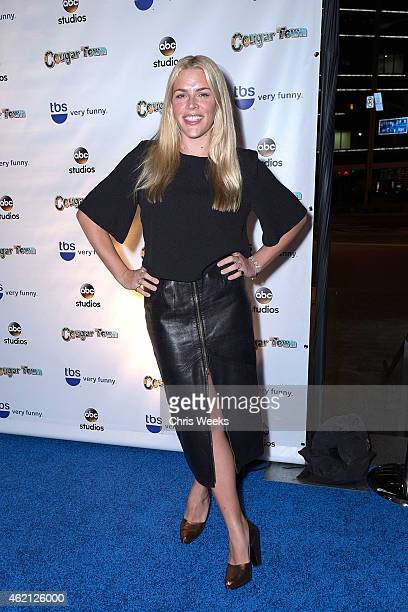 Actress Busy Philipps attends the Cougar Town wrap party at RivaBella on January 24 2015 in West Hollywood California