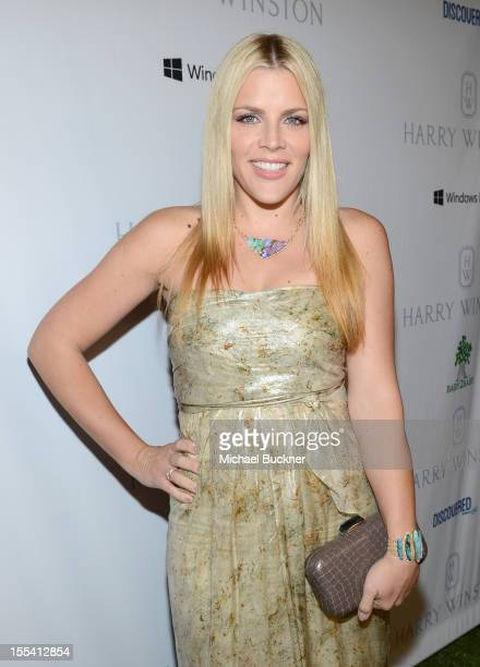 Actress Busy Philipps attends the First Annual Baby2Baby Gala event presented by Harry Winston honoring Jessica Alba at Book Bindery on November 3...