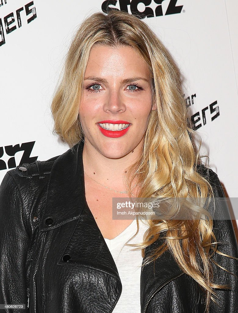 Actress Busy Philipps attends the Los Angeles screening of 'Mistaken For Strangers' at The Shrine Auditorium on March 25, 2014 in Los Angeles, California.