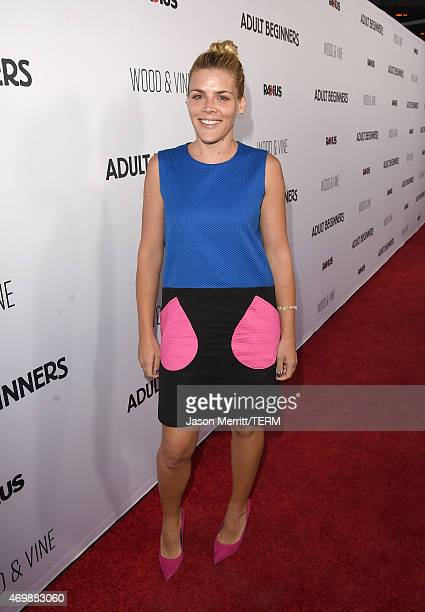 Actress Busy Philipps attends the premiere of Adult Beginners at ArcLight Hollywood on April 15 2015 in Hollywood California