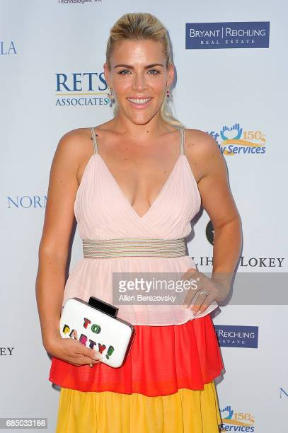 Actress Busy Philipps attends the Uplift Family Services at Hollygrove Gala at W Hollywood on May 18 2017 in Hollywood California