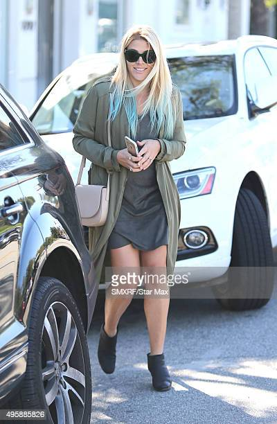 Actress Busy Philipps is seen on November 5 2015 in Los Angeles California