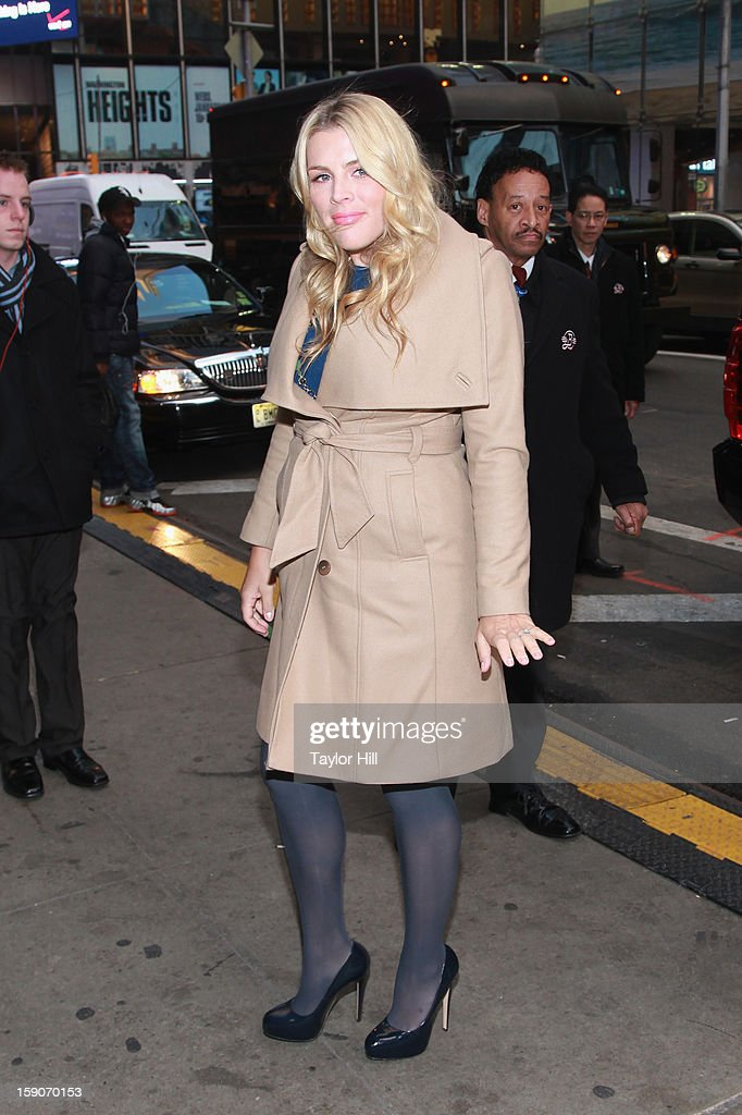 Actress Busy Philipps visits ABC News' 'Good Morning America' Times Square Studio on January 7, 2013 in New York City.