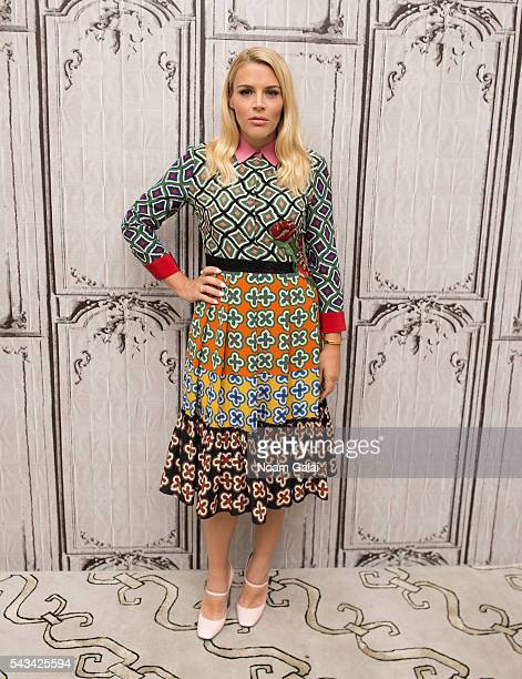 Actress Busy Philipps visits AOL Build to discuss 'Vice Principals' at AOL Studios In New York on June 28 2016 in New York City
