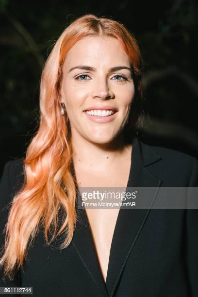 Actress Busy Phillips poses for a portrait at Ron Burkle's Green Acres Estate on October 13 2017 in Beverly Hills California