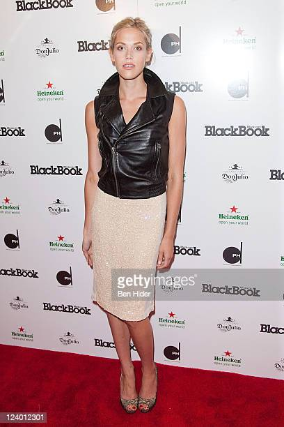Actress Byrdie Bell attends BlackBook's 15th anniversary party at Dream Downtown on September 7 2011 in New York City