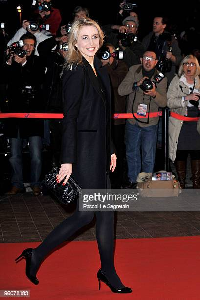 Actress Cachou arrives at Palais des Festivals to attend NRJ Music Awards on January 23 2010 in Cannes France