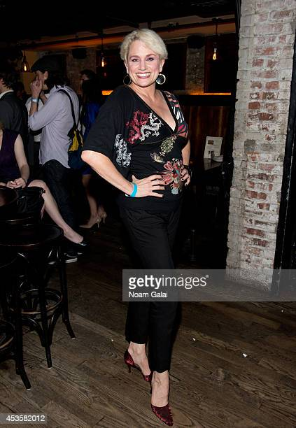 """Actress Cady Huffman attends the """"Revolution In The Elbow Of Ragnar Agnarsson Furniture Painter"""" Opening Night Party at Amity Hall on August 13, 2014..."""