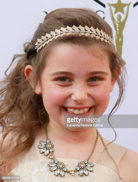 Actress Caige Coulter attends the 38th Annual Young Artists Awards at Alex Theatre on March 17 2017 in Glendale California
