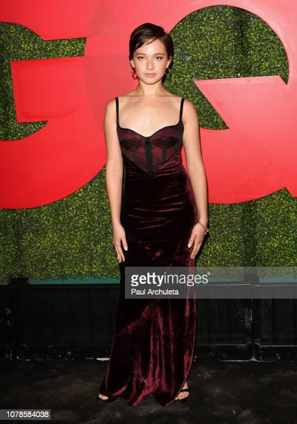 Actress Cailee Spaeny attends the 2018 GQ Men Of The Year party at Benedict Estate on December 06 2018 in Beverly Hills California