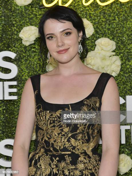 Actress Cait Fairbanks attends the CBS Daytime Emmy After Party at Pasadena Convention Center on April 29 2018 in Pasadena California