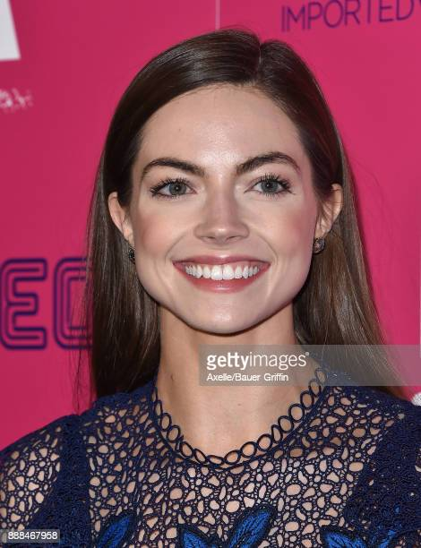 Actress Caitlin Carver attends the Los Angeles premiere of 'I Tonya' at the Egyptian Theatre on December 5 2017 in Hollywood California