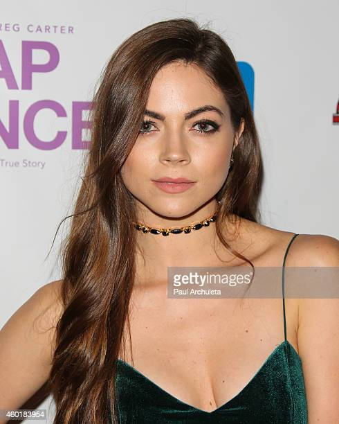 Actress Caitlin Carver attends the Los Angeles premiere of Lap Dance at ArcLight Cinemas on December 8 2014 in Hollywood California