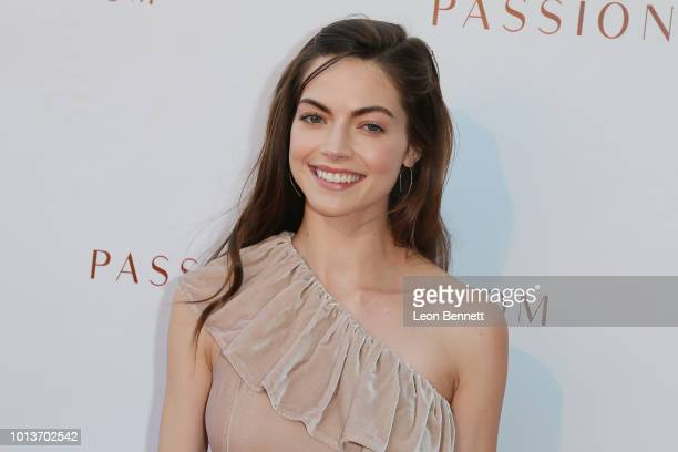 Actress Caitlin Carver attends the Premiere For Passionflix's 'Driven' at Raleigh Studios on August 8 2018 in Los Angeles California