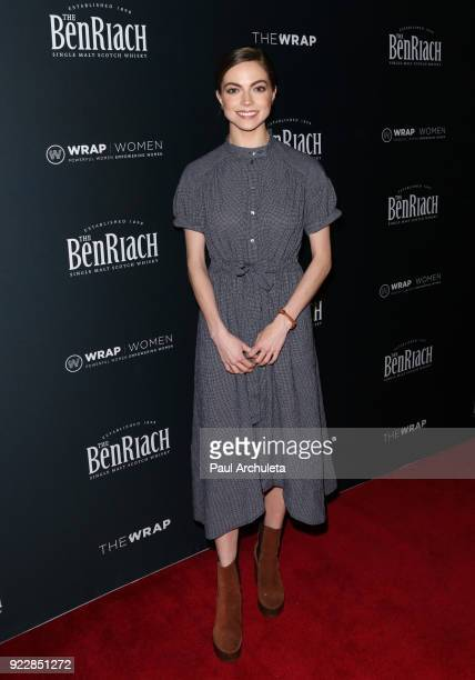 Actress Caitlin Carver attends TheWrap's 2018 'Women Whiskey And Wisdom' event celebrating women Oscar nominees at Teddy's at The Hollywood...