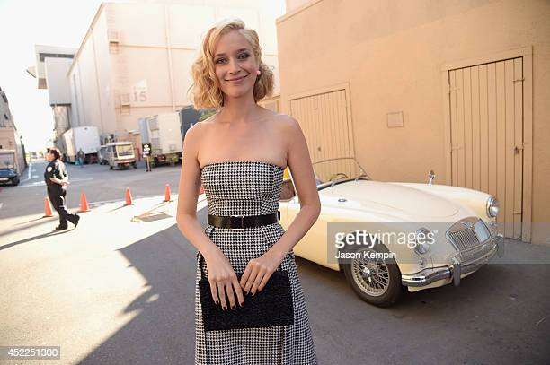 """Actress Caitlin Fitzgerald attends Showtime's """"Masters Of Sex"""" Season 2 - 2014 Summer TCA Press Tour Event at Sony Pictures Studios on July 16, 2014..."""