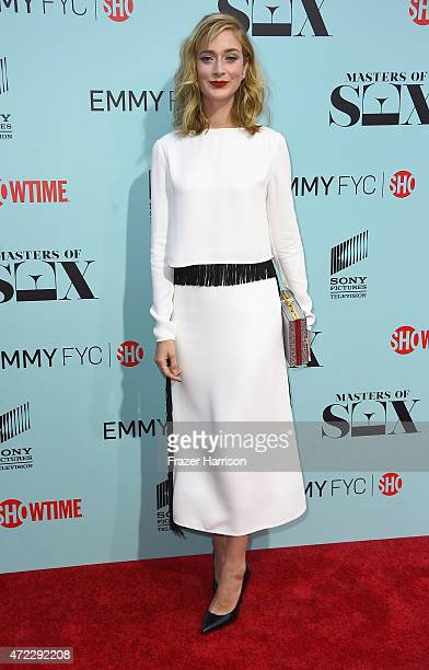 Actress Caitlin Fitzgerald attends the Screening of Showtime and Sony Pictures Television's Masters Of Sex at Cary Grant Theater on May 5 2015 in...
