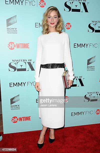 """Actress Caitlin Fitzgerald attends the Showtime and Sony Pictures Television's """"Masters Of Sex"""" screening at Cary Grant Theater on May 5, 2015 in..."""