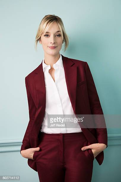 Actress Caitlin Fitzgerald is photographed for TV Guide Magazine on January 17 2015 in Pasadena California