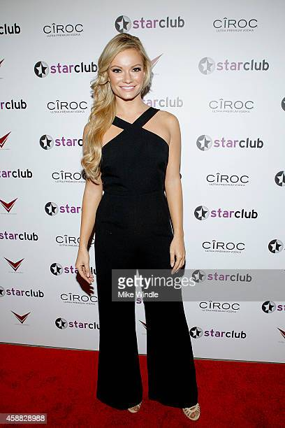 Actress Caitlin O'Connor attends StarClub Inc's Private Party hosted by Tyrese Gibson on Tuesday November 11 2014 in Santa Monica California