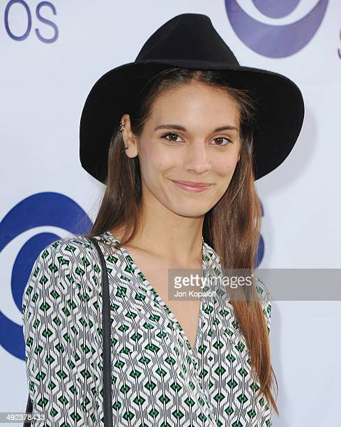 Actress Caitlin Stasey arrives at the CBS Summer Soiree at The London West Hollywood on May 19 2014 in West Hollywood California