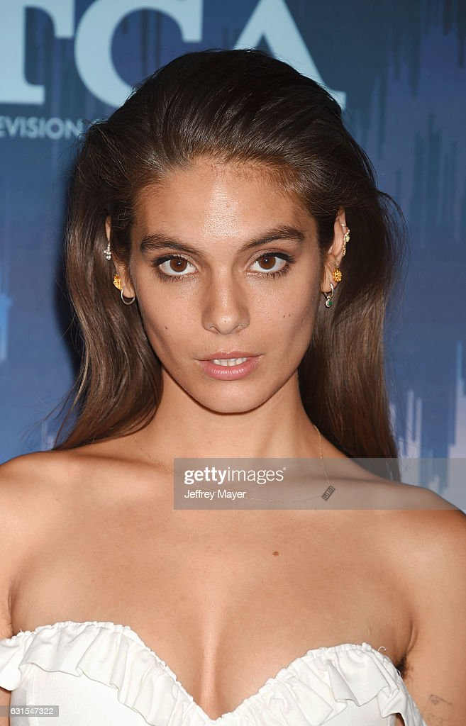 Actress Caitlin Stasey attends the 2017 Winter TCA Tour - FOX All-Star Party at the Langham Huntington Hotel on January 11, 2017 in Pasadena, California.