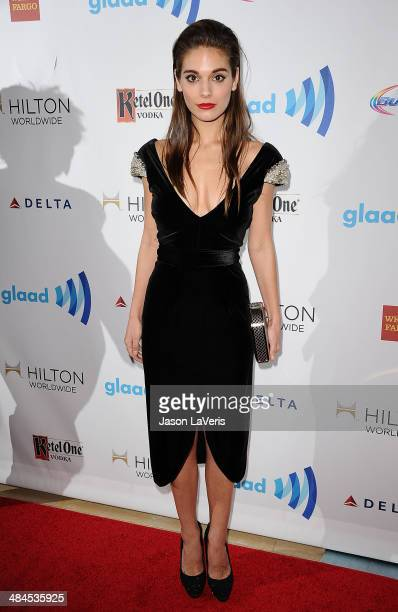 Actress Caitlin Stasey attends the 25th annual GLAAD Media Awards at The Beverly Hilton Hotel on April 12 2014 in Beverly Hills California