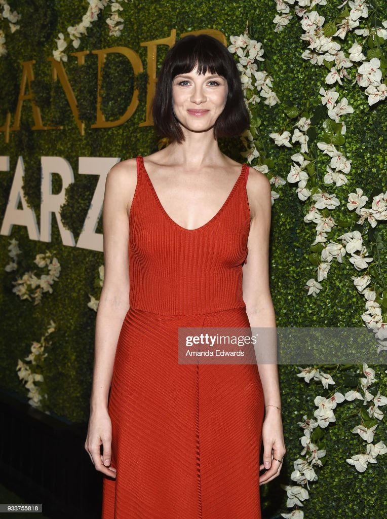 Actress Caitriona Balfe arrives at Starz's 'Outlander' FYC Special Screening and Panel at the Linwood Dunn Theater at the Pickford Center for Motion Study on March 18, 2018 in Hollywood, California.