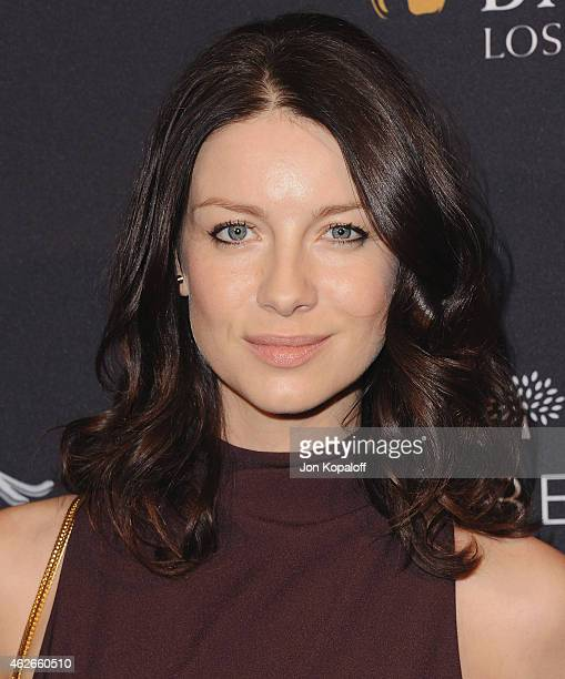 Actress Caitriona Balfe arrives at the 2015 BAFTA Tea Party at The Four Seasons Hotel on January 10 2015 in Beverly Hills California