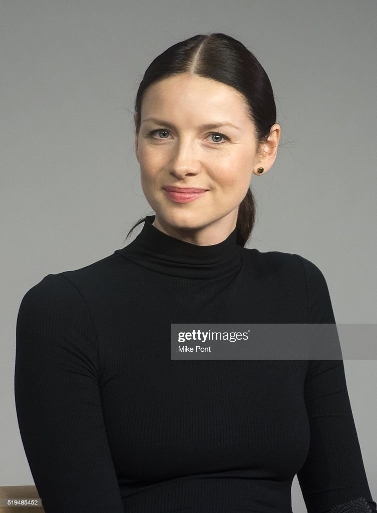 Actress Caitriona Balfe attends Apple Store Soho Presents Meet the Cast: 'Outlander' at Apple Store Soho on April 6, 2016 in New York City.