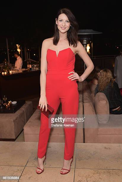 Actress Caitriona Balfe attends ELLE's Annual Women in Television Celebration on January 13 2015 at Sunset Tower in West Hollywood California...