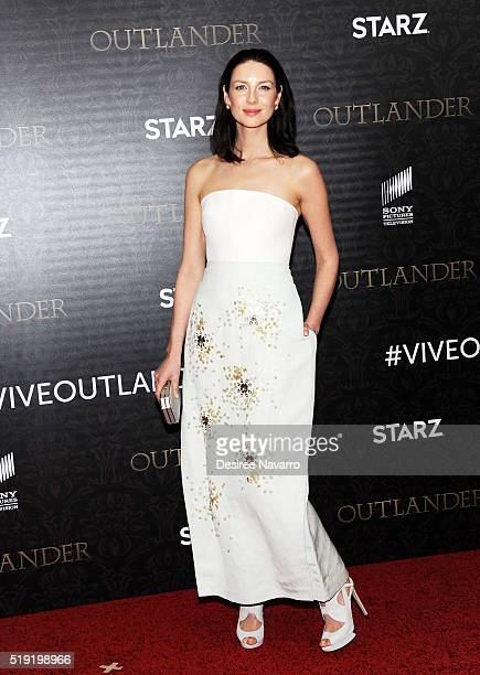Actress Caitriona Balfe attends 'Outlander' Season Two World Premiere at American Museum of Natural History on April 4 2016 in New York City
