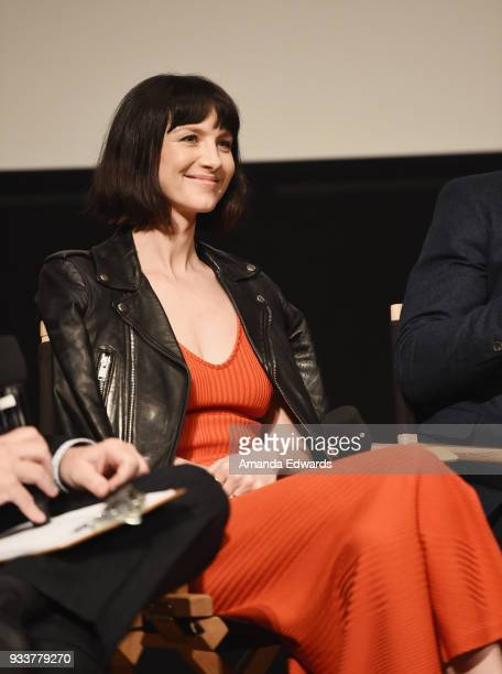 Actress Caitriona Balfe attends Starz's 'Outlander' FYC Special Screening and Panel at the Linwood Dunn Theater at the Pickford Center for Motion...