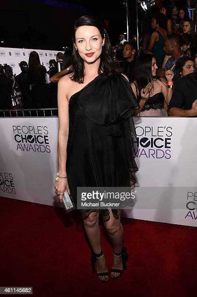 Actress Caitriona Balfe attends The 41st Annual People's Choice Awards at Nokia Theatre LA Live on January 7 2015 in Los Angeles California