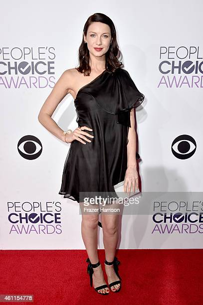 Actress Caitriona Balfe attends The 41st Annual People's Choice Awards at Nokia Theatre LA Live on January 7, 2015 in Los Angeles, California.