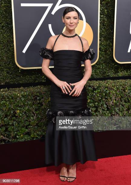 Actress Caitriona Balfe attends the 75th Annual Golden Globe Awards at The Beverly Hilton Hotel on January 7 2018 in Beverly Hills California