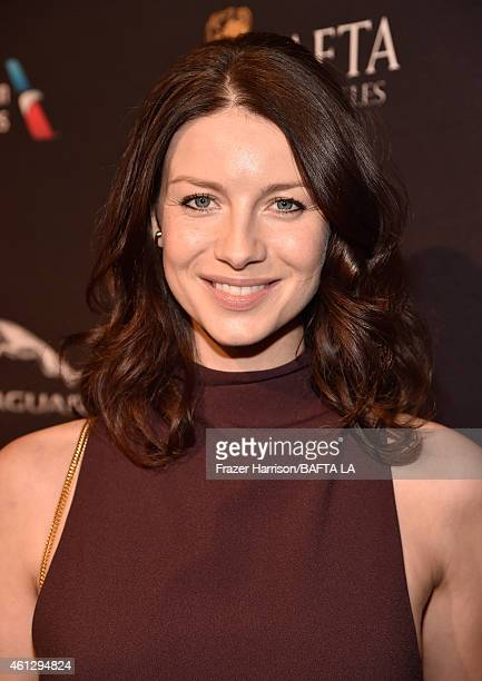 Actress Caitriona Balfe attends the BAFTA Los Angeles Tea Party at The Four Seasons Hotel Los Angeles At Beverly Hills on January 10 2015 in Beverly...
