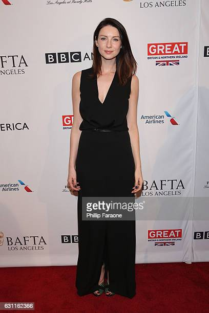 Actress Caitriona Balfe attends The BAFTA Tea Party at Four Seasons Hotel Los Angeles at Beverly Hills on January 7 2017 in Los Angeles California