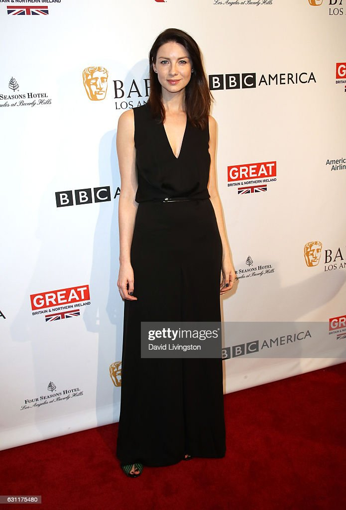 Actress Caitriona Balfe attends The BAFTA Tea Party at Four Seasons Hotel Los Angeles at Beverly Hills on January 7, 2017 in Los Angeles, California.
