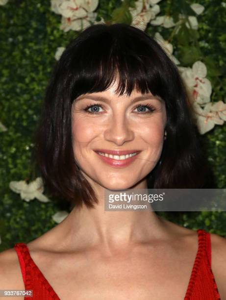 Actress Caitriona Balfe attends the For Your Consideration event for STARZ's 'Outlander' at the Linwood Dunn Theater on March 18 2018 in Los Angeles...