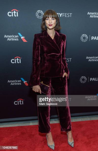 Actress Caitriona Balfe attends the Outlander 2018 Paleyfest NY at The Paley Center for Media on October 5 2018 in New York City