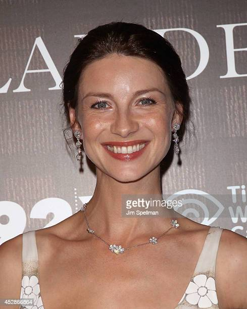 Actress Caitriona Balfe attends the 'Outlander' series screening at 92nd Street Y on July 28 2014 in New York City