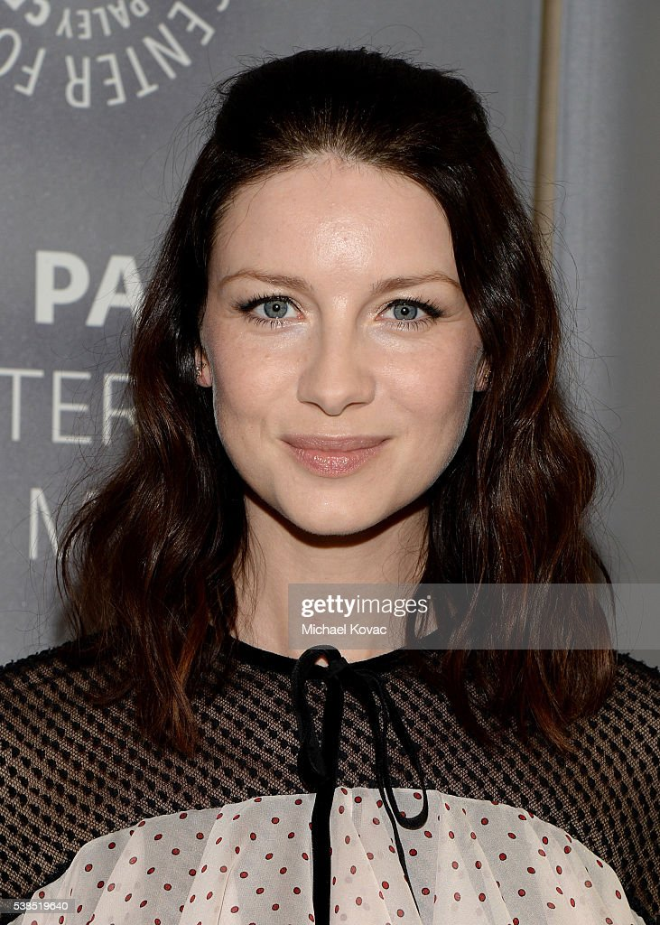 Actress Caitriona Balfe attends The Paley Center for Media presents The Artistry of 'Outlander' at The Paley Center for Media on June 6, 2016 in Beverly Hills, California.