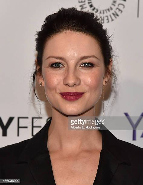 Actress Caitriona Balfe attends The Paley Center for Media's 32nd Annual PALEYFEST LA 'Outlander' at Dolby Theatre on March 12 2015 in Hollywood...