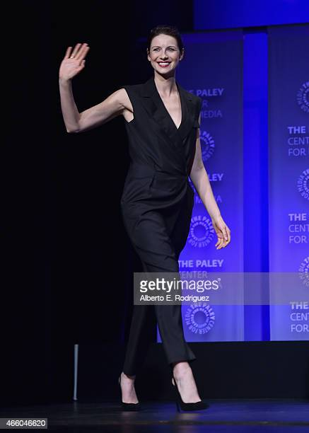 Actress Caitriona Balfe attends The Paley Center for Media's 32nd Annual PALEYFEST LA Outlander at Dolby Theatre on March 12 2015 in Hollywood...